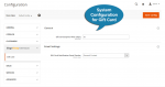 Magento 2 Gift Card Extension Settings
