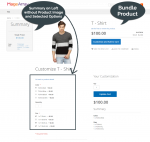Bundle product with Magento 2 Sticky Sidebar Summary