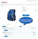 Product page - Questions & Answers  for product