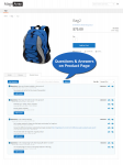 Product Questions & Answers tab on product page