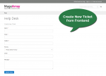 Create  ticket page