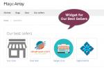 best sellers widget