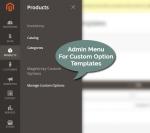 Admin Menu for Custom Option Image Templates