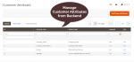 Manage customer attributes from backend