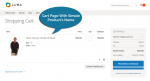 Cart page with Improved Configurable Product