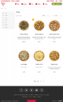 Pizza Store Category page