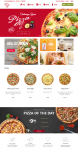 Pizza store Homepage