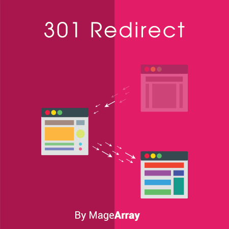 301 redirect extension By MageArray