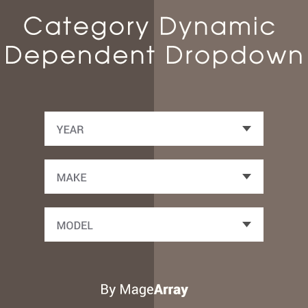 Magento 2 Category Dynamic Dependent Dropdown (year make