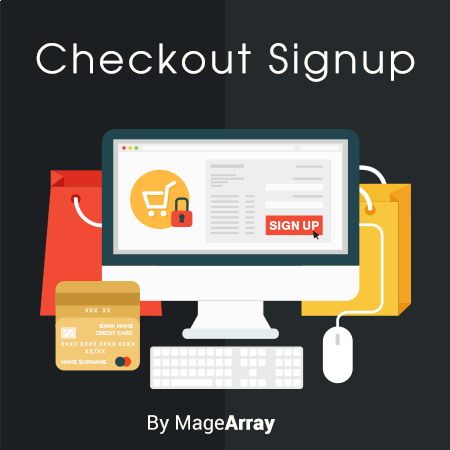 Checkout Signup Extension By MageArray