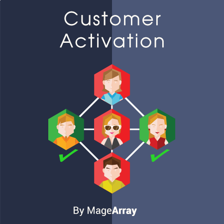 Magento 2 Customer Activation Extension by MageArray
