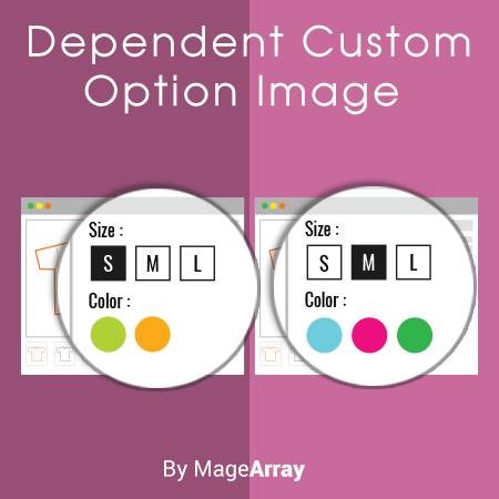 Dependent Custom Options Image