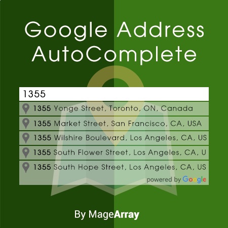 Google Address Auto Complete