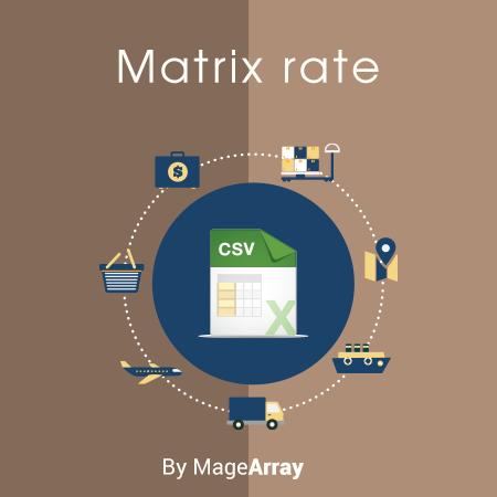 Matrix Rate Shipping