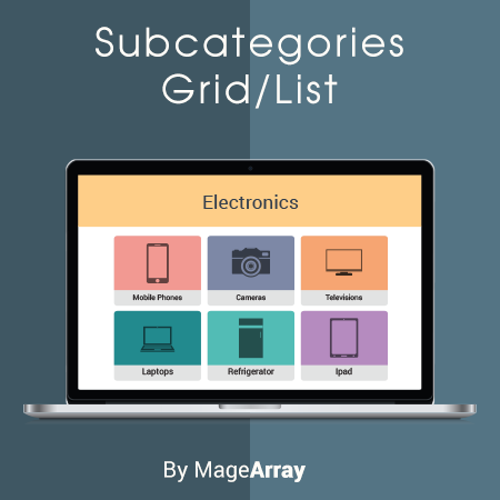 Magento 2 Subcategories Grid/List | Magento 2 Easy Catalog images Extension By MageArray