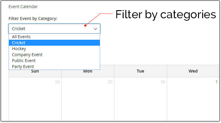 Filter Category