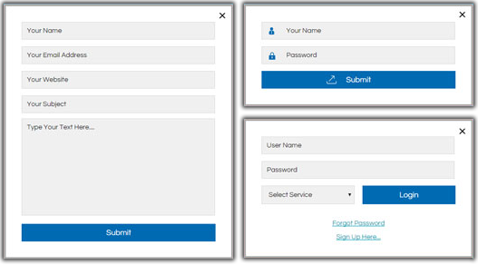 Frontend Forms